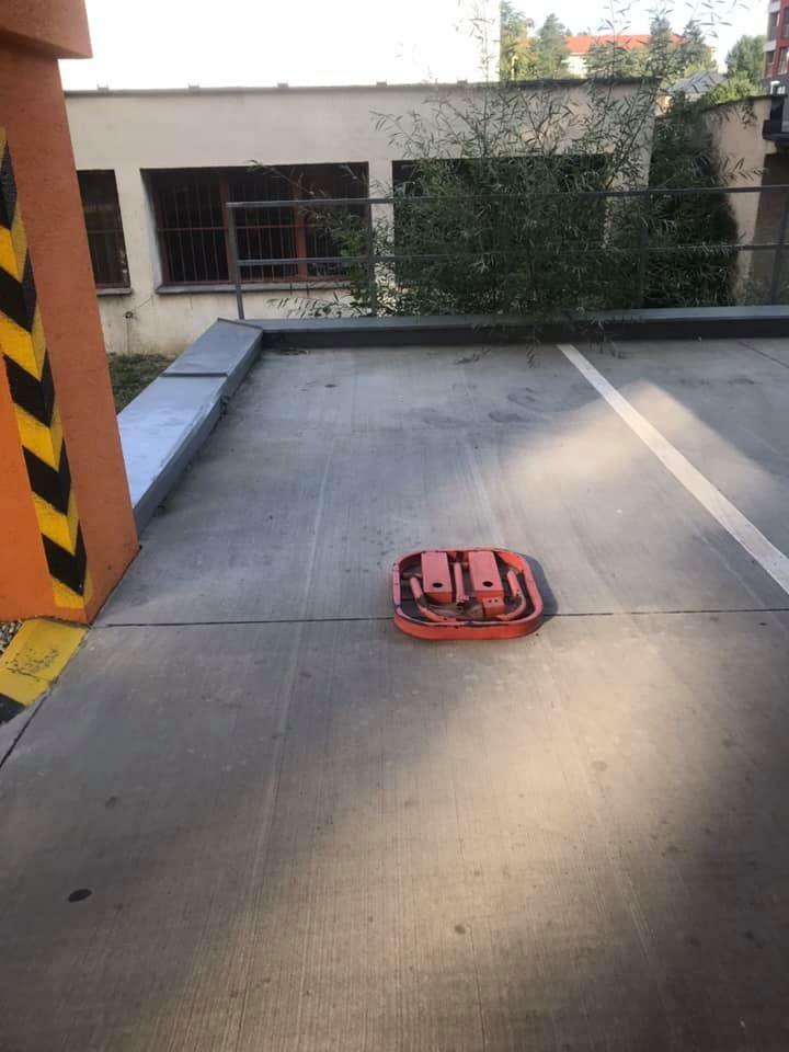 Parkovacie miesto na prenájom v Trenčíne