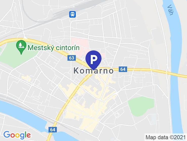 Garáž na predaj Komárno - nové sídlisko