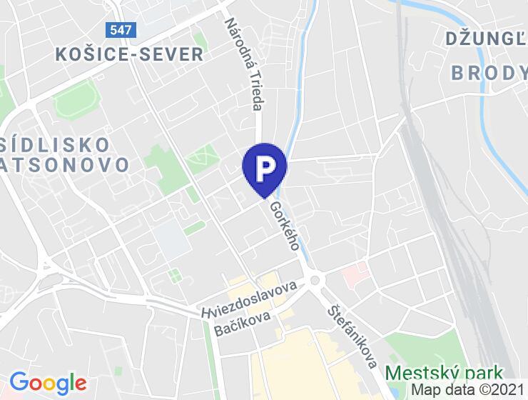 Garáž na prenájom Košice