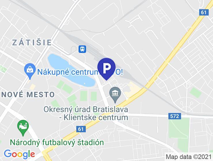 Garážové státie na prenájom - Tomášikova, Bratislava