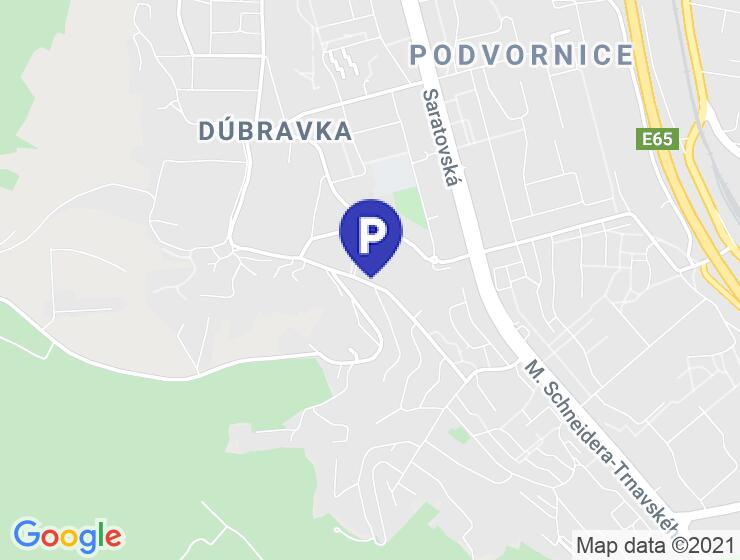 Kryté parkovacie miesto v Koprivnici
