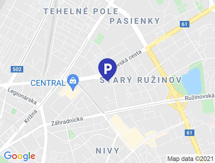 Parkovacie miesto Jégeho, Bratislava