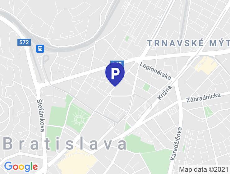 Parkovacie miesto Mýtna, Bratislava