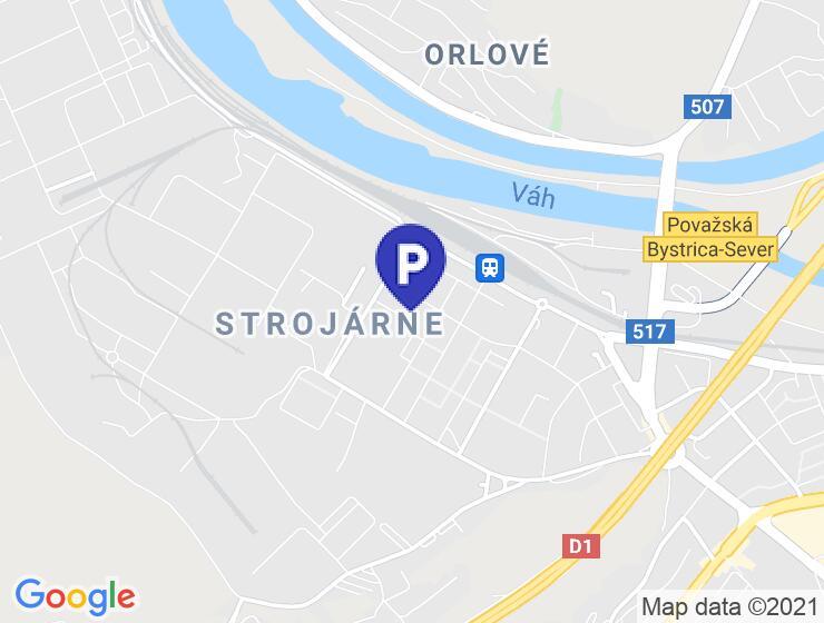 Parkovacie miesto na predaj, Považská Bystrica