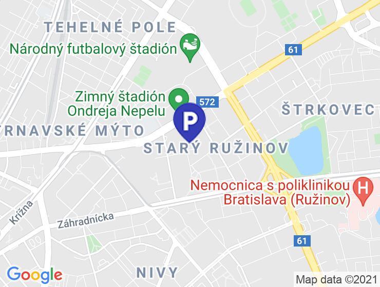 Predám samostatnú veľkú exkluzívnu Garáž pri zimnom štadióne - Bratislava