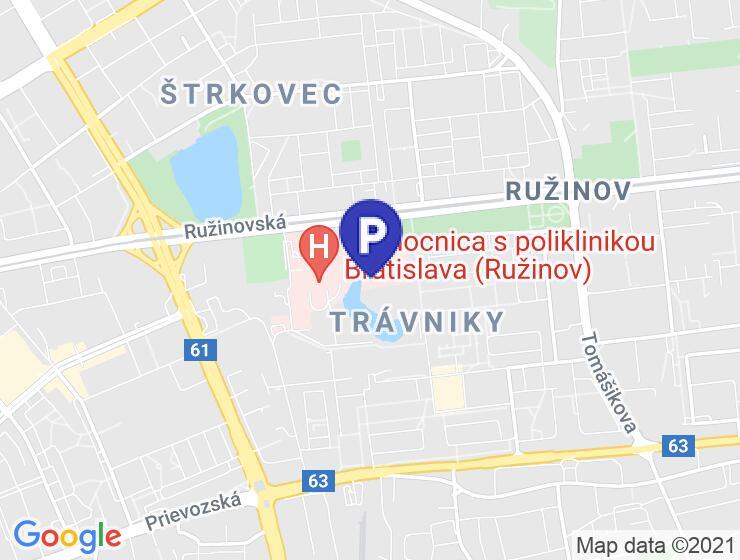 Parkovisko Ružinovská poliklinika, Bratislava