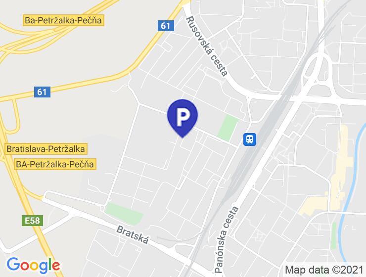 PRENÁJOM – PARKOVACIE STÁTIE Gogoľova 3, Petržalka – Kapitulský dvor v projekte SEPTIMO II