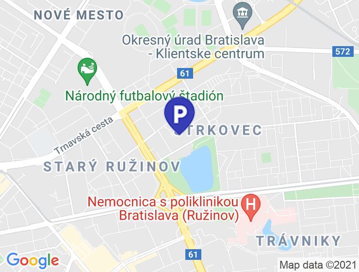 Prenájom parkovacieho státia/boxu, Bratislava