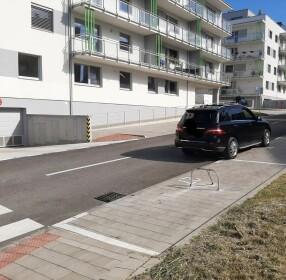 Vonkajšie parkovacie miesto na Kramároch, Bratislava